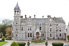Travel to Ireland and sleep in romantic castles and manor houses without breaking your travel budget. Ireland Travel, Hotel Spa, Historic Homes, Luxury Travel, Places To Travel, Traveling By Yourself, Tourism, Wedding Venues, Beautiful Places