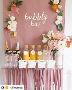Absolutely love this idea!! Super cute!! ������ #Repost @ruffledblog (@get_repost) ・・・ We're sharing lots of free printables for you to throw your own mimosa bar with @avery! . . . . #ruffledblog #bridalshower #bridalbrunch #freeprintable #freetemplates #maidofhonor #bubblybar #diydecor #mimosabar #thatsdarling #darlingdaily #pinkflashesofdelight #love #wedding #averyproducts #partner http://gelinshop.com/ipost/1517326590407715284/?code=BUOoH6tganU