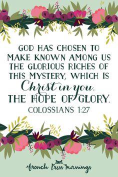 Colossians 1:27