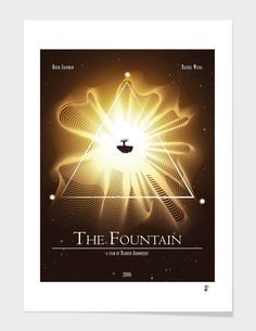 Discover «The Fountain poster», Limited Edition Fine Art Print by Javier Alamo - From 39€ - Curioos