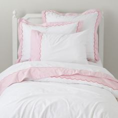 Extended Stay Duvet Cover (Pink)  | Crate and Barrel
