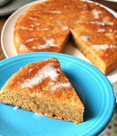 Flourless PB cake with glaze (only 3 ingredients for the cake!)