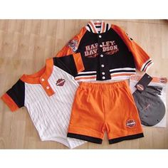 harley davidson onesies for infants | Harley Davidson Baby Clothes A