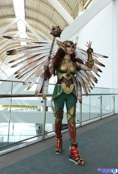Hawkgirl from DC Universe by Cosplayer: Axceleration Cosplay, Photographer: Eurobeat Kasumi Photography