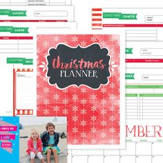 Christmas Planner 9 Printables Bonus Photo by PerennialPlanner