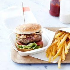Hamburger maison de A à Z - Cuisine actuelle mobile