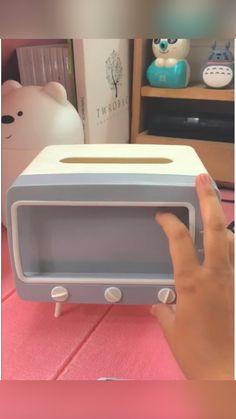 Tv Tissue Box at Dokirella! Cr: @kireync