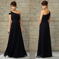 Vestido preto | Black Long Dress
