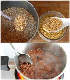 Flaxseed Healing Potion: Discards Toxins, Helps Ulcers And Gastritis, Melts Cellulite