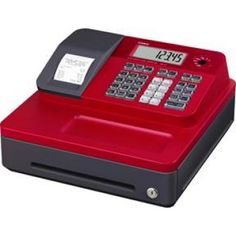 Buy best Casio SE-G1S ECR Red Cash Register in Just Price:$299.00 at Onlypos.com.au