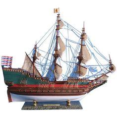 Wooden Batavia Tall Model Ship 31 inch