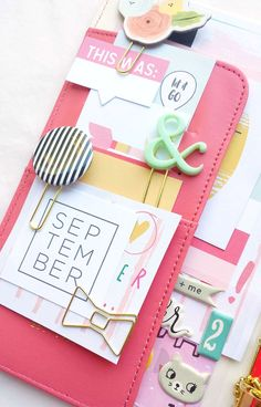 One of my favorite parts of decorating my planner is picking out my favorite supplies and stuffing them into my front pocket. A full pocket is one that will help me throughout the week. However, s...