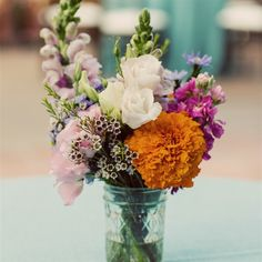 Small Colorful Centerpieces