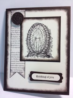 Feeling Sentimental Thinking of You Card Stampin' Up!