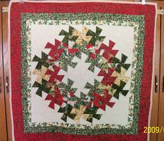 """Quilt in a Day - LOTTO blocks for """"Christmas in July"""" lotto *Twister layout added! - Quilting Photos - Community Forum"""