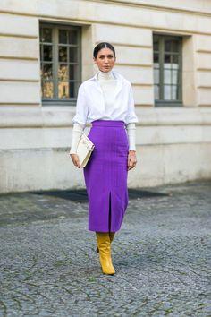 Diego Zuko snaps the well-heeled at Paris Fashion Week. Fashion Moda, Fashion 2017, Paris Fashion, Autumn Fashion, Fashion Outfits, Womens Fashion, Fashion Trends, Fashion Weeks, Fashion Inspiration