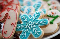 Winter Christmas Cookies