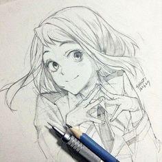 ~Anime Girl Drawing #Anime #Otaku #AnimeDrawings #AnimeGirl