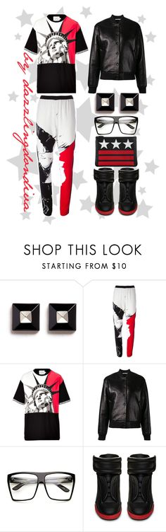 """""""Salute"""" by dazzlingdondiva ❤ liked on Polyvore featuring Givenchy, Linda Farrow, FAUSTO PUGLISI, T By Alexander Wang, ZeroUV, Maison Margiela, GetTheLook, AlexanderWang, BloggerStyle and FaustoPuglisi"""
