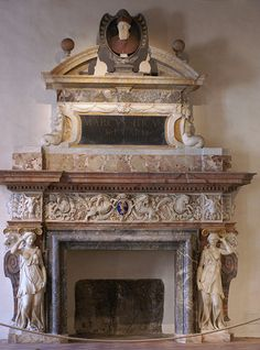 """Rom, Palazzo Altemps, monumentaler Kamin (monumental fire place"""""""