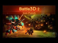 Battle3D 2 Iron Punch - iPhone Gameplay Video