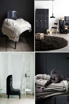 love these textures agains each other-even in black,greys, whites