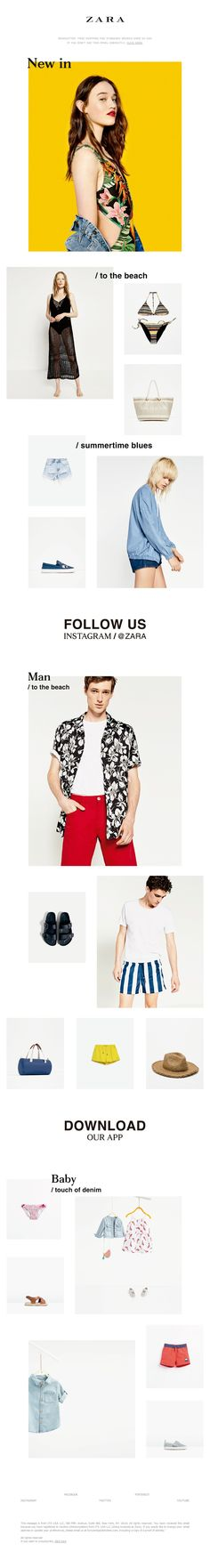 ZARA - Weekly | This is new in. Monday, June 13