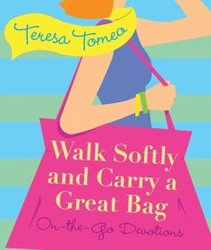 #Catholic #Women - This 75% off Sale is just for you! Walk Softly and Carry a Great Bag https://shop.franciscanmedia.org/collections/teresa-tomeo