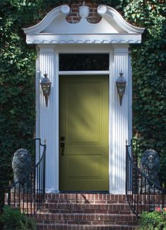 Pella S New Vibrant Color Collection Reinvents Entry Door Personality Enhance Your E With Energetic Green