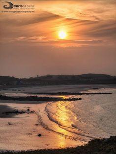 Guernsey /Golden sands at Pembroke Bay Chris George Photography
