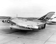 The Douglas F4D Skyray (later redesignated F-6 Skyray) was an American carrier-based fighter/interceptor built by the Douglas Aircraft Company. Although it was in service for a relatively short time and never entered combat, it was notable for being the first carrier-launched aircraft to hold the world's absolute speed record, at 752.943mph, and was the first United States Navy and United States Marine Corps fighter that could exceed Mach 1 in level flight.