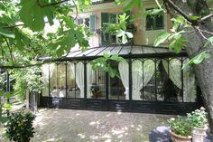 Torino  Rocca Patio, Backyard, Terrarium Plants, Garden Architecture, Winter House, Glass House, Conservatory, Gazebo, Decoration