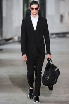 Kris Van Assche Spring 2014 Menswear Collection Slideshow on Style.com