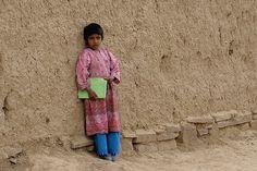 Schoolgirl in Afghanistan by Antanas