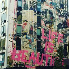 Photo: Sarah Pehrsdotter  #streetart #brooklyn #NewYork #mondaymotivation