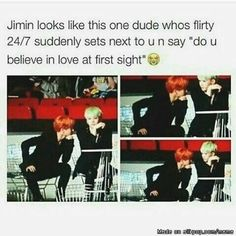 But if is Jimin, I not get annoyed... and Suga be like.. Who cares!..