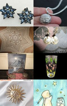 Stars in the Moonlight - Team Vintage USA by Debby Harris on Etsy--Pinned with TreasuryPin.com