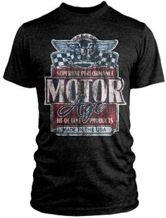 A bit of Americana with Motor Age Tees $29.98