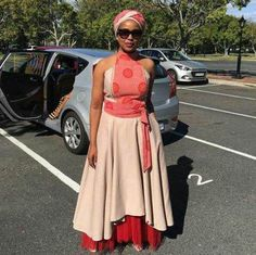See shweshwe dresses in South Africa Xhosa Attire, African Attire, African Wear, African Women, African Print Dresses, African Print Fashion, African Fashion Dresses, African Dress, African Traditional Dresses