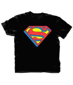 Extruded Superman Logo T-shirt