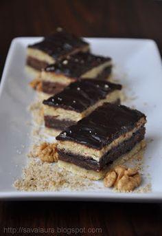 Prajitura de post cu gem | Retete culinare cu Laura Sava Romanian Desserts, Romanian Food, Pastry Cake, Vegan Sweets, Something Sweet, Raw Vegan, Vegan Food, Food Inspiration, Sweet Recipes
