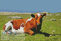 Cow Cross Stitch Pattern http://www.artecyshop.com/index.php?main_page=product_info&cPath=1_3&products_id=150