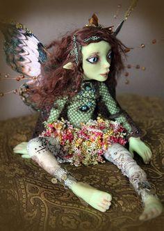 OOAK Art Doll: via Etsy.