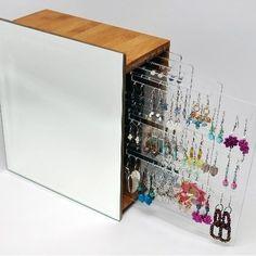 Bamboo Earring Holder - Jewellery Storage - Women's Jewelery - Women