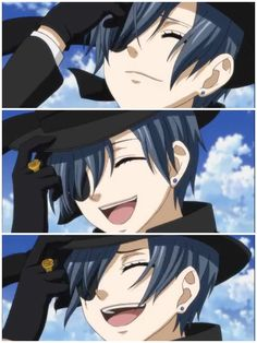 Book of Circus episode 10 Ciel finally smiles like the child he never was.