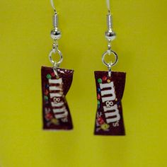 M&M earrings......Tentacion!!!!!!!
