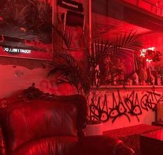 Red Aesthetic Grunge, Aesthetic Colors, Aesthetic Pictures, Neon Rouge, I See Red, Rainbow Aesthetic, Red Wallpaper, Red Rooms, Red Walls