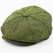 Niall Horan amazing style herringbone newsboy cap available on hatwoods.com