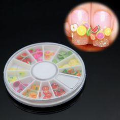 Find More Rhinestones & Decorations Information about 60pcs Fruit Nail Sticker Nail decoration Colorful Lovely Nail Art Beauty Tools,High Quality art nail tools,China tool pin Suppliers, Cheap art wing from Foonbe Cosmetic (ShenZhen) Co., Ltd. Store on Aliexpress.com