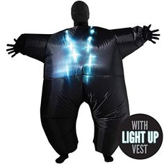Inflatable Costumes Adult Halloween Fancy Dress Funny Scary Alien Skeleton Sumo Tag someone who should wear this! Christmas Fancy Dress, Halloween Fancy Dress, Halloween Kostüm, Scary Costumes, Funny Halloween Costumes, Adult Costumes, Happy Halloween Pictures, Party Inflatables, Scary Alien